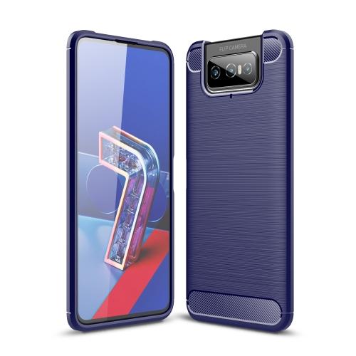 FORCELL FLEXI TPU Kryt Asus Zenfone 7 (ZS670KS) modrý
