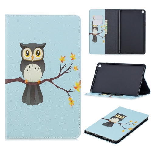 FORCELL LEATHER Zaklápací obal Samsung Galaxy Tab A 8.0 (2019) T290 OWL