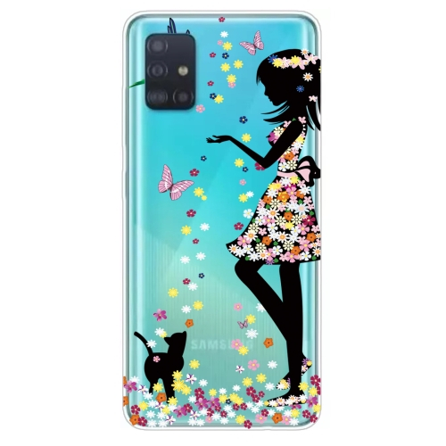 FORCELL ART Silikónový obal Samsung Galaxy A51 GIRL
