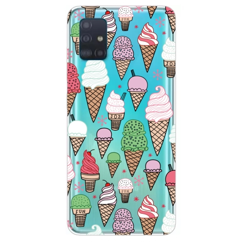 FORCELL ART Silikónový obal Samsung Galaxy A71 ICE CREAM