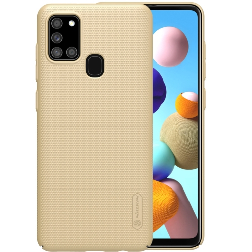 NILLKIN FROSTED Samsung Galaxy A21s zlatý