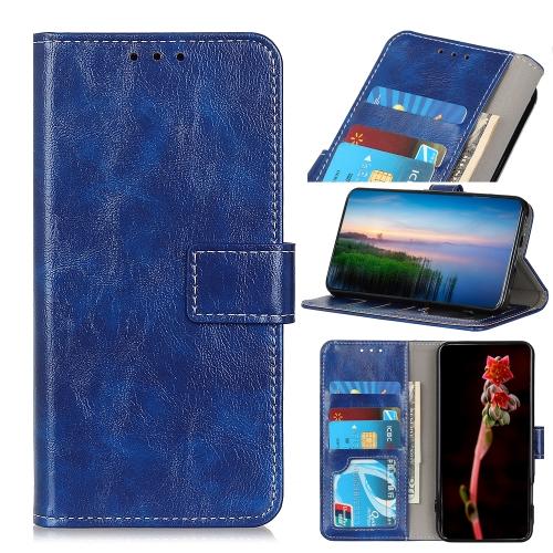 FORCELL RETRO Peňaženkový obal Motorola Moto G 5G Plus modrý