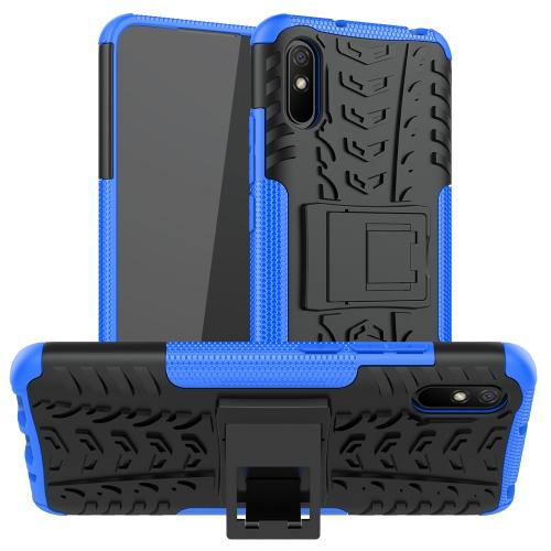 FORCELL STAND Extra odolný obal Xiaomi Redmi 9A / 9AT modrý