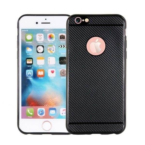 FORCELL FIBER Ochranný obal Apple iPhone 7 Plus / iPhone 8 Plus čierny