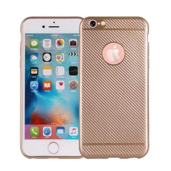 FORCELL FIBER Ochranný obal Apple iPhone 7 Plus zlatý