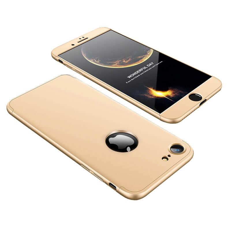 FORCELL 360° Ochraný obal Apple iPhone 7 / iPhone 8 zlatý