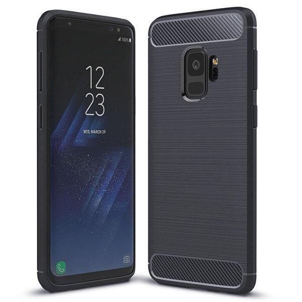 FORCELL FLEXI TPU obal Samsung Galaxy S9 modrý