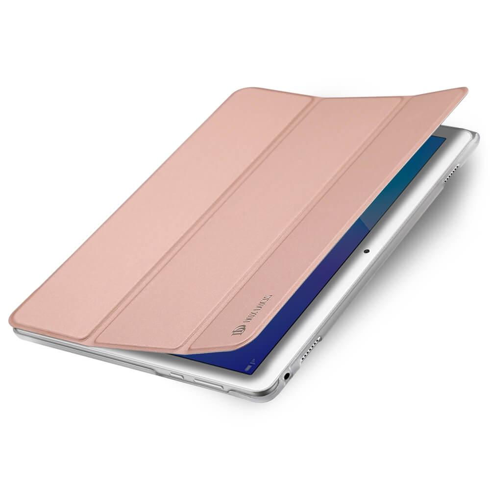 "DUX Zaklapací obal Huawei MediaPad M3 Lite 10"" ružový"