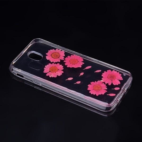 FORCELL 3D FLOWER Silikónový obal Samsung Galaxy J5 2017 (J530) (6)