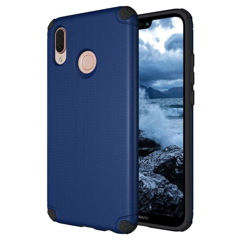 FORCELL LIGHT ARMOR obal Huawei P20 Lite modrý