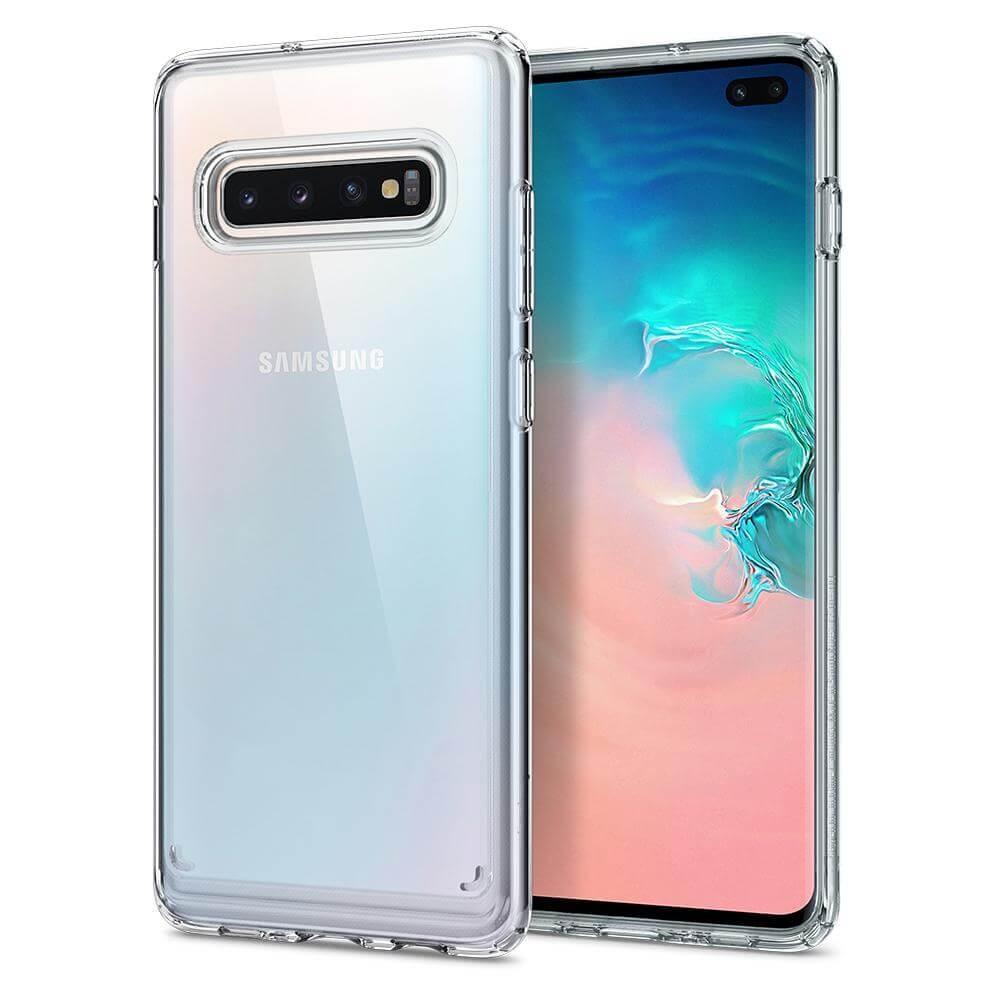 SPIGEN ULTRA HYBRID Samsung Galaxy S10 Plus priehľadný