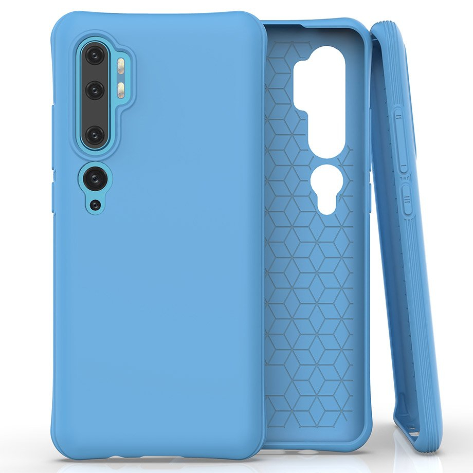 FORCELL RUBBER Gumený kryt Xiaomi Mi Note 10 / Xiaomi Mi Note 10 Pro momodrý