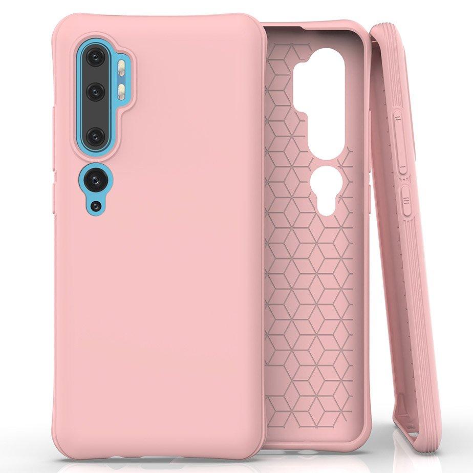 FORCELL RUBBER Gumený kryt Xiaomi Mi Note 10 / Xiaomi Mi Note 10 Pro ružový