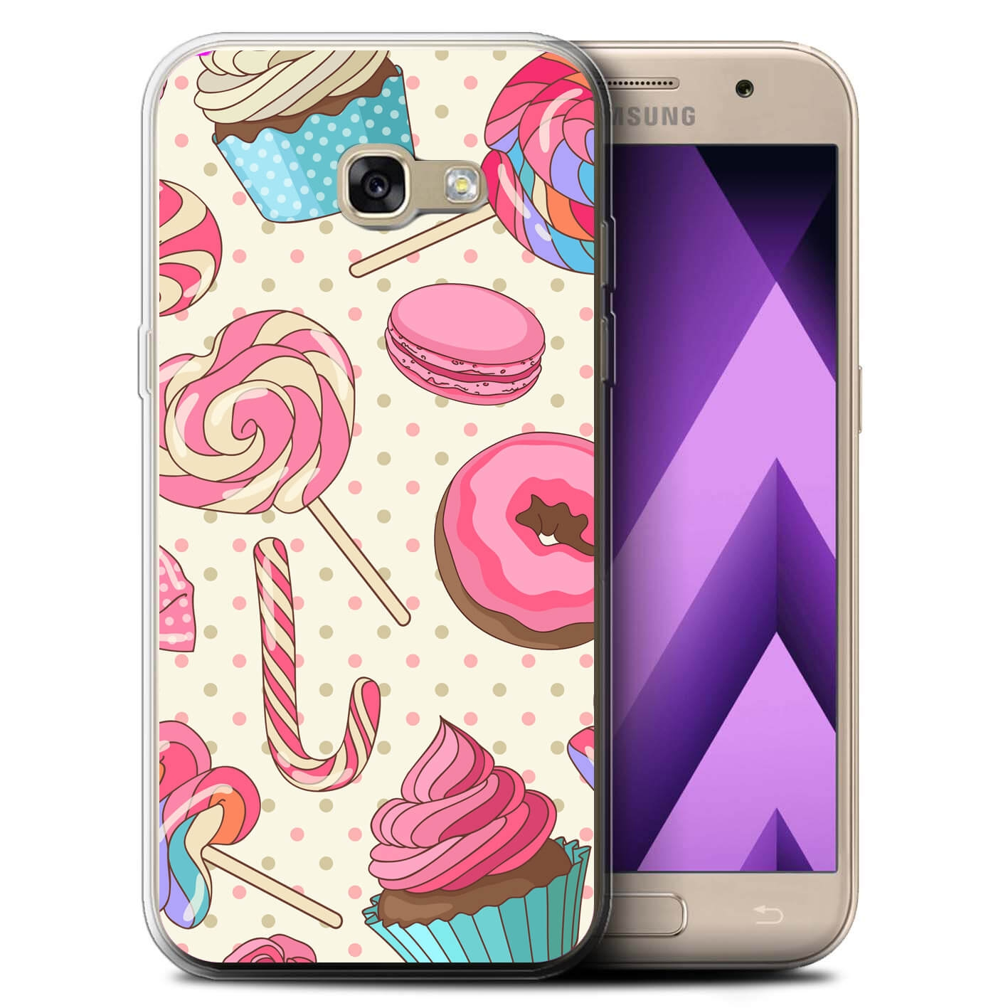 MY ART kryt Samsung Galaxy A3 2017 (A320) CANDY (030)