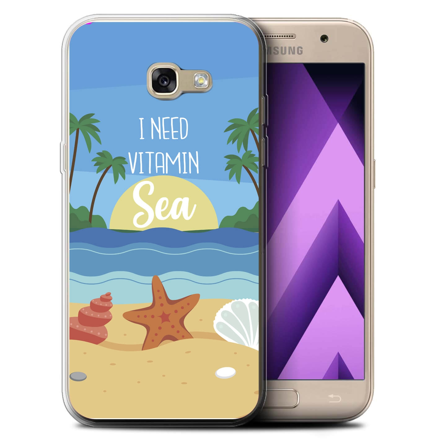 MY ART kryt Samsung Galaxy A3 2017 (A320) VITAMIN SEA (033)