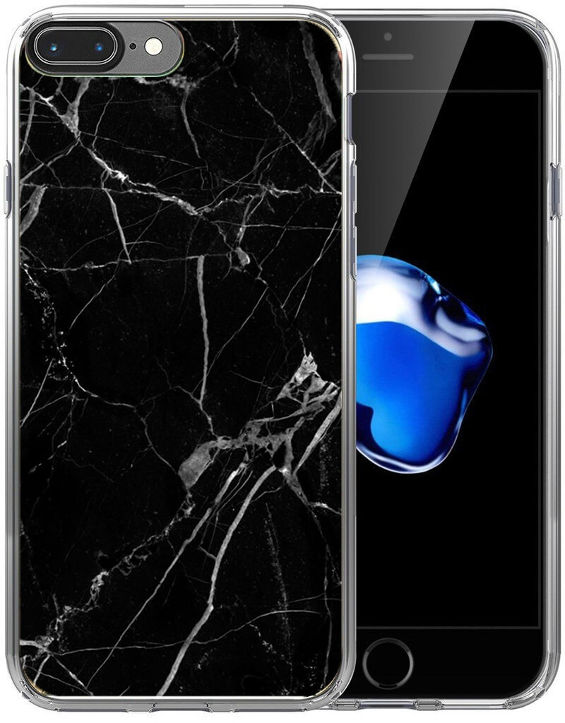 FORCELL MY ART kryt Apple iPhone 7 Plus / 8 Plus BLACK MARBLE (017)
