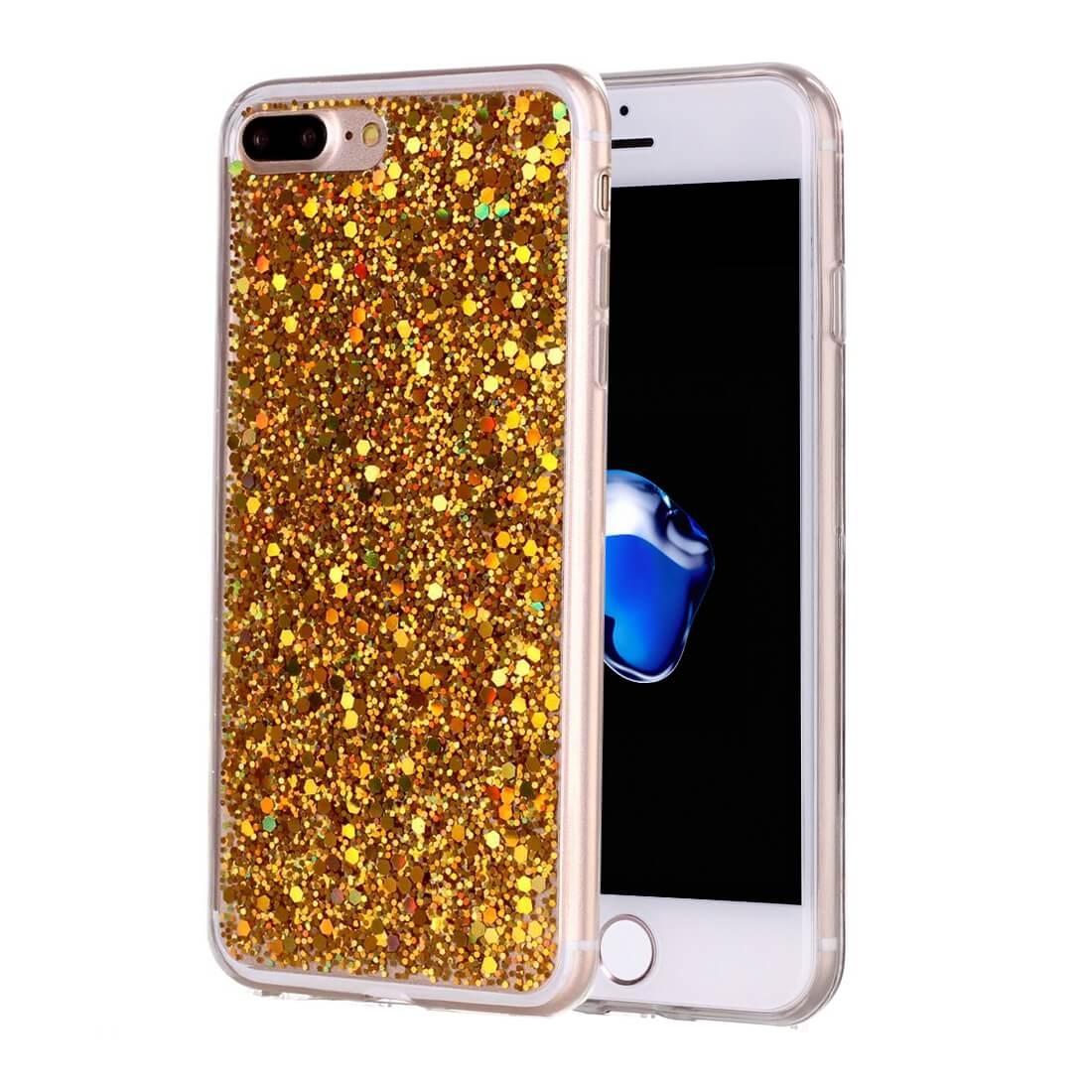 FORCELL LIQUID TPU obal Apple iPhone 7 Plus / iPhone 8 Plus zlatý