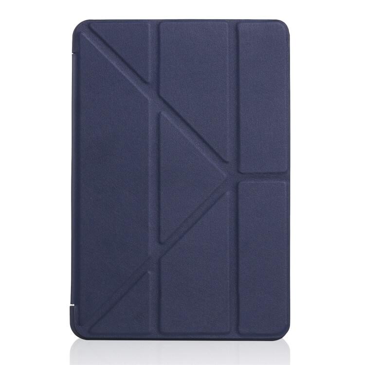 FORCELL LEATHER Zaklapací obal Apple iPad Mini 4 / Mini 5 (2019) modrý