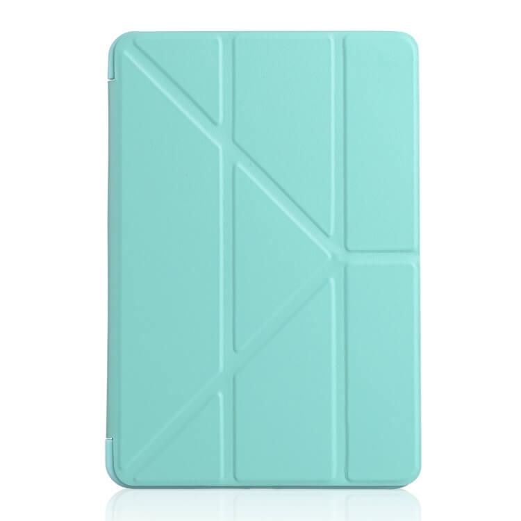 FORCELL LEATHER Zaklapací obal Apple iPad Mini 4 / Mini 5 (2019) zelený