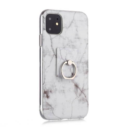 FORCELL HOLD Ochranný kryt Apple iPhone 11 MARBLE WHITE