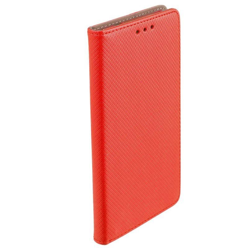 FORCELL MAGNET Peňaženkový obal LG X Power 2 červený