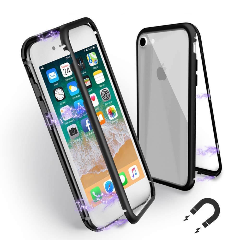 FORCELL Ochranný magnetický obal Apple iPhone 6   6S čierny 4b09be72dc7