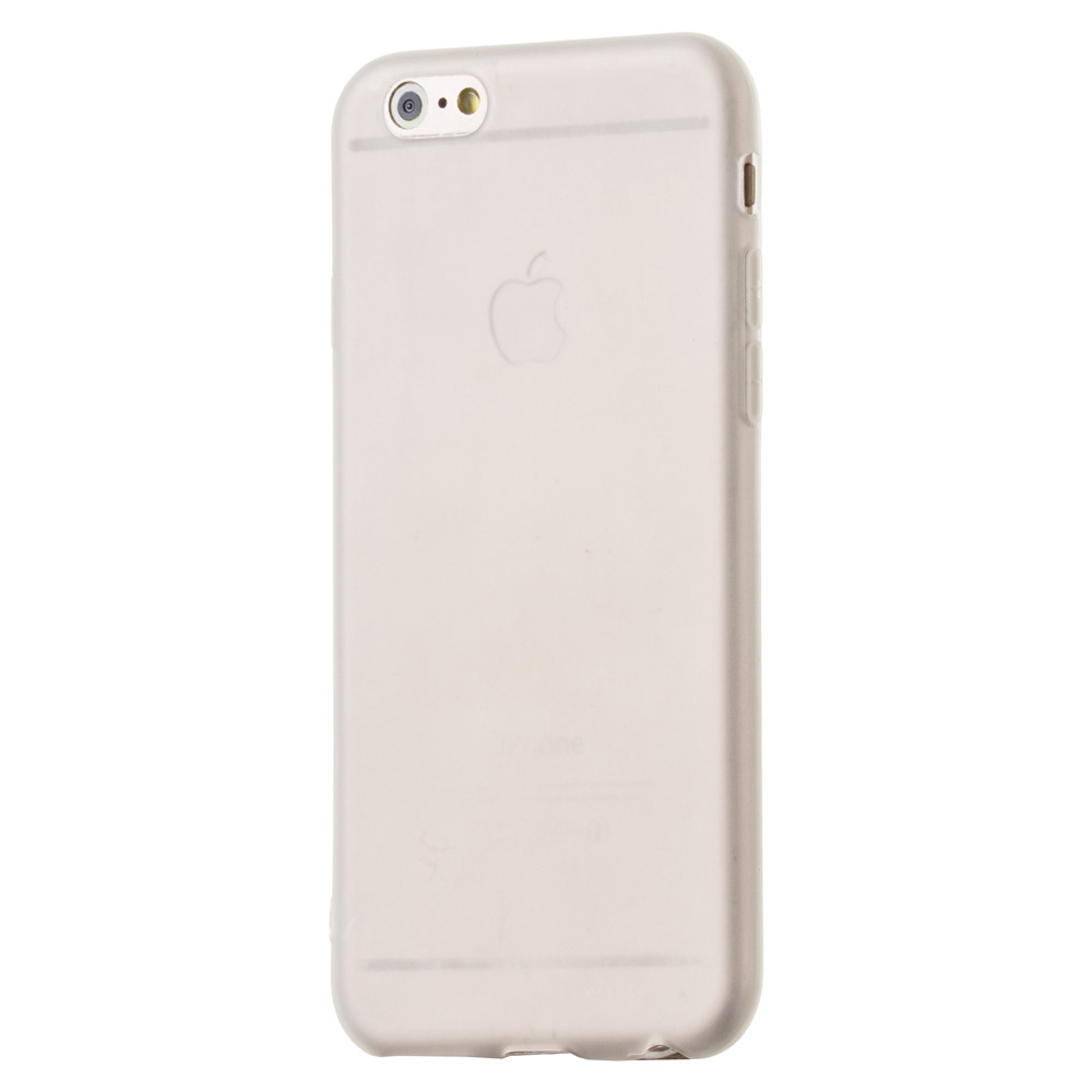 FORCELL MATTE TPU Obal Apple iPhone 6/6S biely