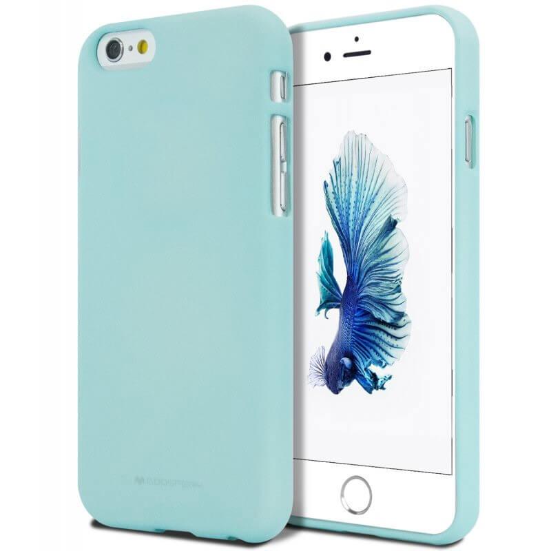 MERCURY SOFT FEELING obal Apple iPhone 5   5S   SE mentolový 2a654ab36e7