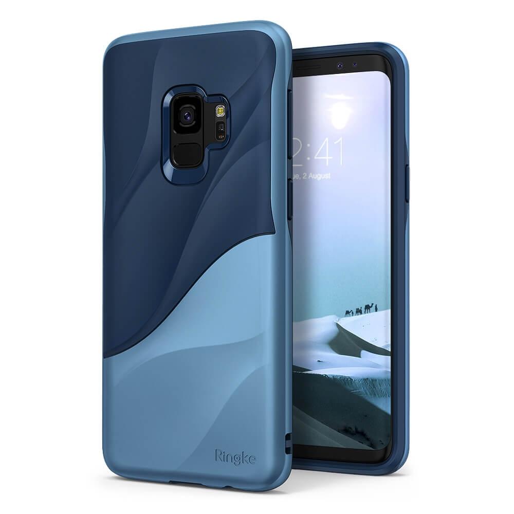 RINGKE WAVE obal Samsung Galaxy S9 modrý