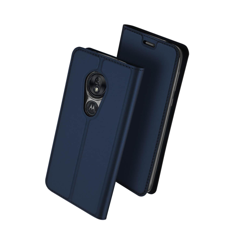DUX Peňaženkové puzdro Motorola Moto G7 Play modré