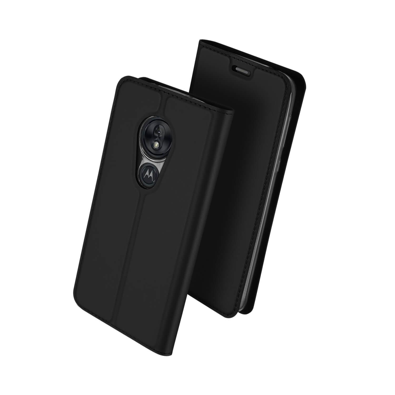 DUX Peňaženkové puzdro Motorola Moto G7 Play čierne