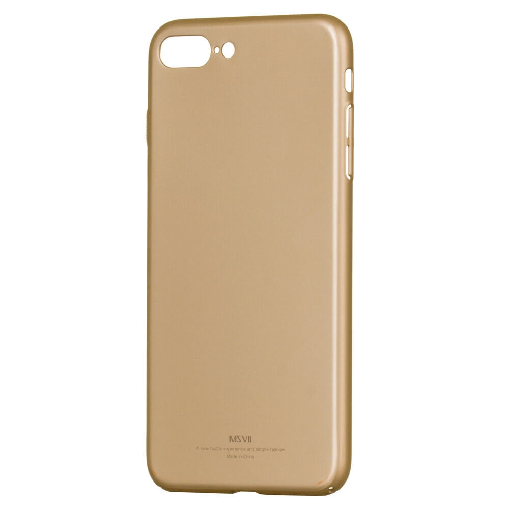 FORCELL MSVII Ultratenký obal Apple iPhone 7 Plus / 8 Plus (bez loga) zlatý