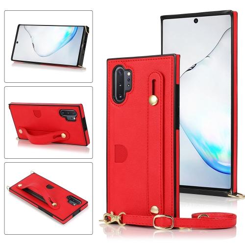 FORCELL STRAP Obal s remienkom Samsung Galaxy Note 10 Plus červený