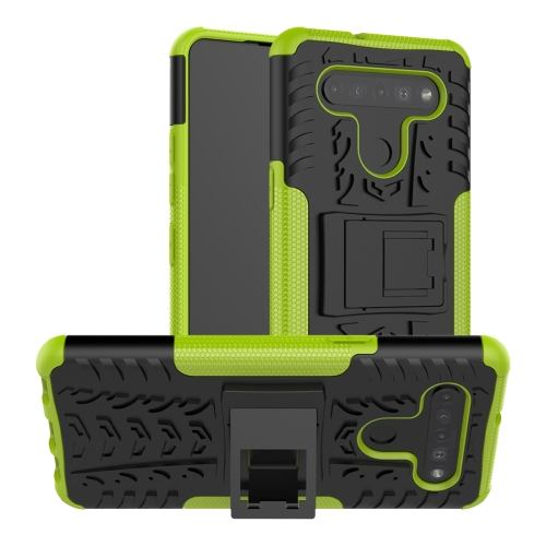 FORCELL STAND Extra odolný obal LG K41s / LG K51s zelený