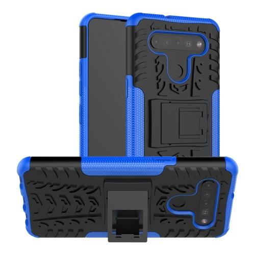 FORCELL STAND Extra odolný obal LG K41s / LG K51s modrý