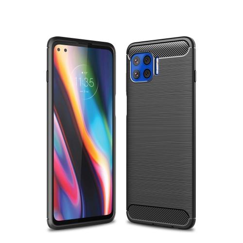 FORCELL FLEXI TPU Kryt Motorola Moto G 5G Plus čierny