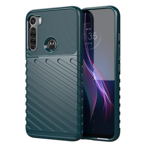 FORCELL THUNDER Ochranný kryt Motorola One Fusion+ zelený