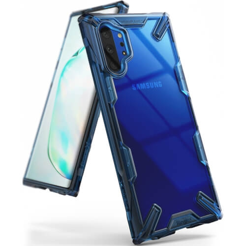 RINGKE FUSION Obal Samsung Galaxy Note 10+ modrý