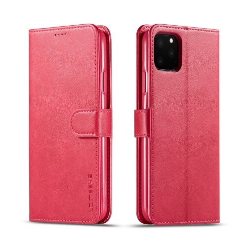 IMEEKE Peňaženkový obal Apple iPhone 11 Pro ružový