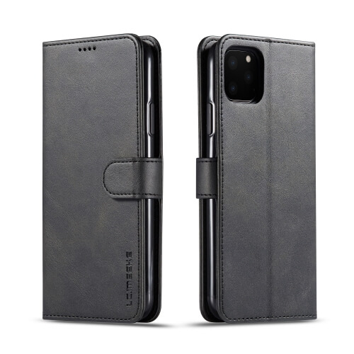 IMEEKE Peňaženkový obal Apple iPhone 11 Pro čierny