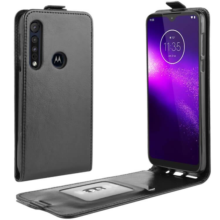 FORCELL Vyklápacie puzdro Motorola Moto G8 Play / One Macro čierne