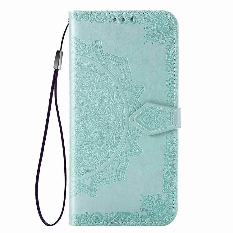 FORCELL MANDALA Ochranný obal Samsung Galaxy A71 zelený