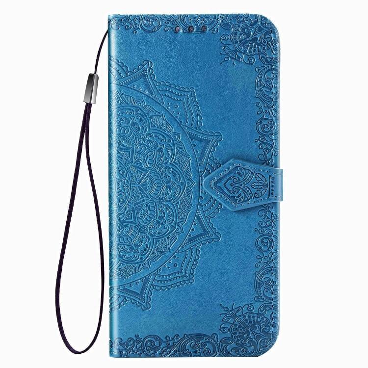 FORCELL MANDALA Ochranný obal Samsung Galaxy A71 modrý