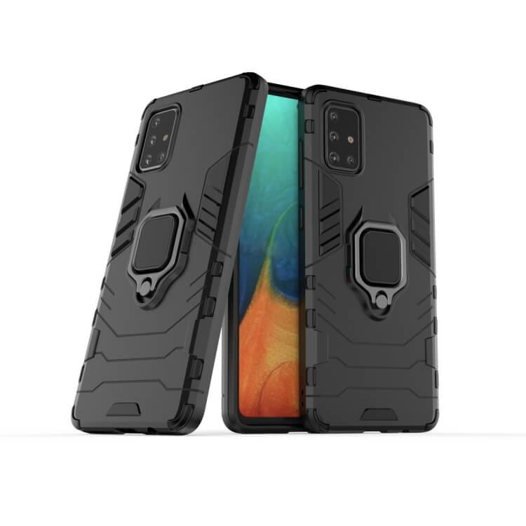 FORCELL STRONG Ochranný obal Samsung Galaxy A71 čierny