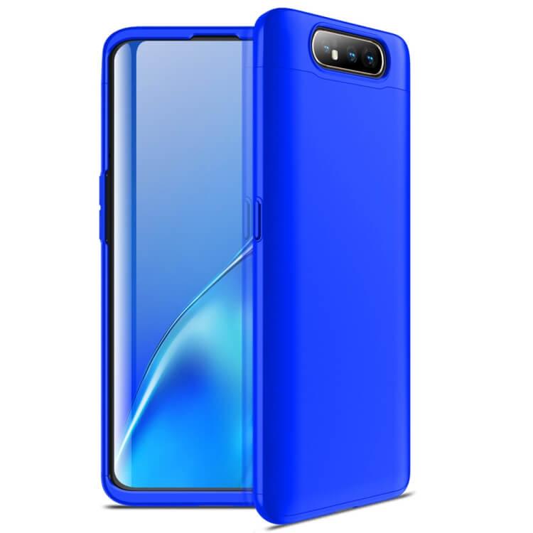 FORCELL 360° Ochranný obal Samsung Galaxy A80 modrý