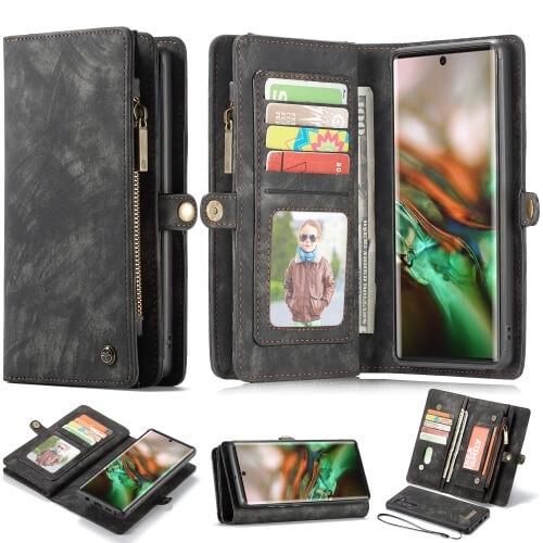 FORCELL WALLET Obal s peňaženkou 2v1 Samsung Galaxy Note 10 čierny