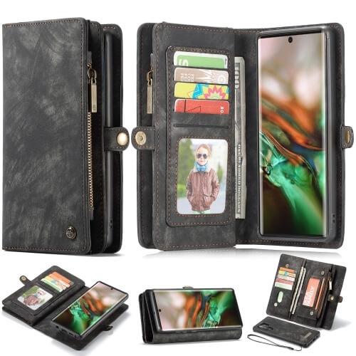 FORCELL WALLET Obal s peňaženkou 2v1 Samsung Galaxy Note 10+ čierny