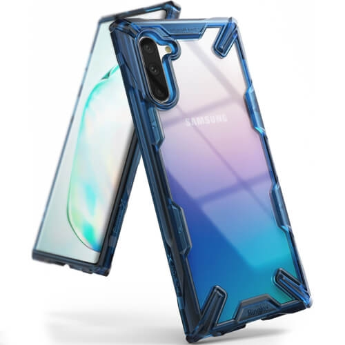 RINGKE FUSION Obal Samsung Galaxy Note 10 modrý