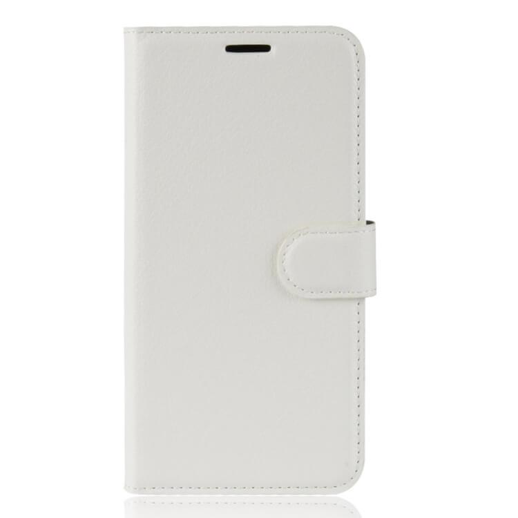 FORCELL LITCHI Peňaženkové puzdro Asus Zenfone Max (M1) ZB555KL biele