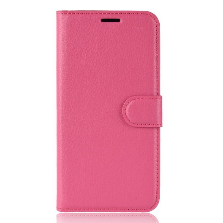 FORCELL LITCHI Peňaženkové puzdro Asus Zenfone Max (M1) ZB555KL ružové